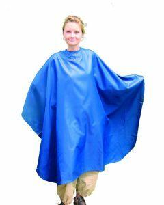 Nebur Kapmantel Maxi marine blauw 182x150cm