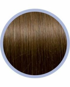 Seiseta Microring Extensions - 50cm - natural straight - #12