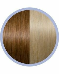 Euro So. Cap. Flat Ring-On Extensions Midden goudblond/ Intens Blond 27-140 10x50-55cm