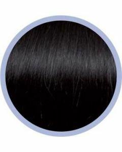 Seiseta Microring Extensions - 50cm - natural straight - #2