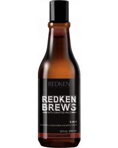 Redken Brews Shampoo 3 IN 1 300ml