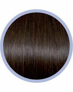 Seiseta Microring Extensions - 50cm - natural straight - #6
