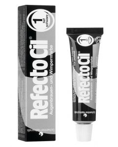 Refectocil Wenkbrauwverf 1 diep zwart 15ml