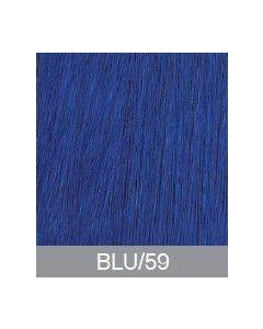 Di Biase Hair Extensions - natural straight - 50cm - #blauw