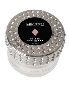 NailPerfect Fiber Gel Dark Nude 45gr