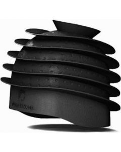 FlashTopp Verfmuts zwart