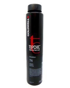 Goldwell Topchic Hair Color Bus 7N 250ml