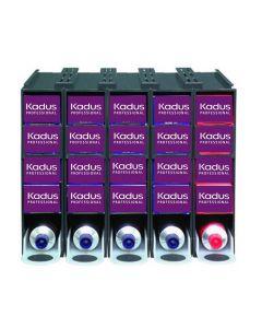 Kadus Professional Kleurvoorraadsyteem 5x5 tubes