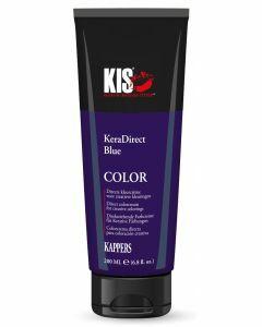 KIS KeraDirect Haarverf blauw 200ml