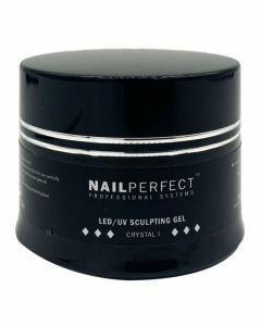 NailPerfect LED UV Sculpting Gel Crystal I