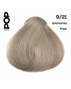 POP POPCOLOUR 9/21 - AMMONIA FREE Very light violet ash blond 100 ml