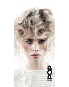 POP Banner curly blond