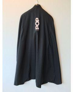 POP zwarte kapmantel