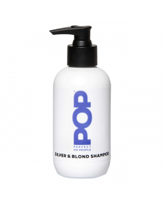 POP Silver & Blond Shampoo 200ml