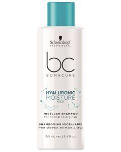 Schwarzkopf BC Hyaluronic Moisture Kick Micellar Shampoo 50ml
