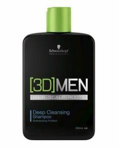 Schwarzkopf 3DMen Deep Cleansing Shampoo 250ml