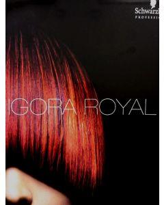 Schwarzkopf Igora Royal Colorchart (kleurboek)