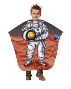 Trend-Design Kinder Kapmantel Astronaut 130x125cm