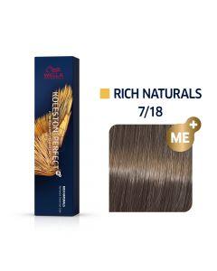 Wella Koleston Perfect ME+ Rich Naturals  7/18 60ml