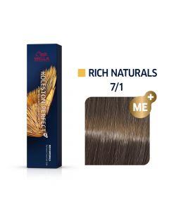 Wella Koleston Perfect ME+ Rich Naturals  7/1 60ml