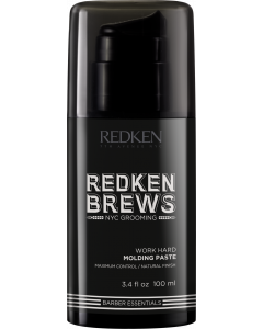 Redken Brews Work Hard Molding Paste 100ml