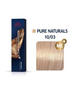 Wella Koleston Perfect ME+ Pure Naturals 10/03 60ml