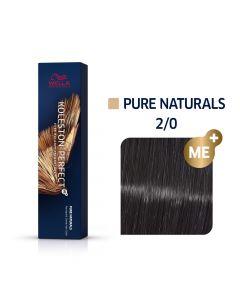 Wella Koleston Perfect ME+ Pure Naturals 2/0 60ml