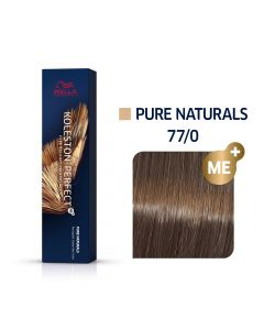 Wella Koleston Perfect ME+ Pure Naturals 77/0 60ml