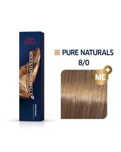 Wella Koleston Perfect ME+ Pure Naturals 8/0 60ml